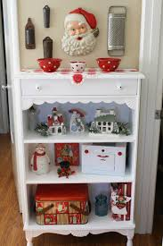 Kitchens Decorated For Christmas Sunny Simple Life New Old Kitchen Shelf