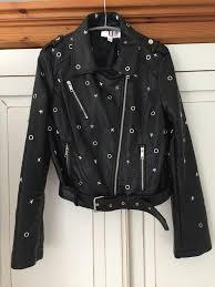 forever unique black biker jacket new