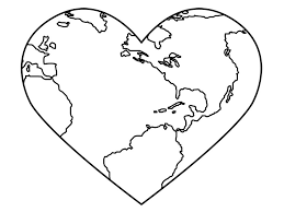 Small Picture Love Your Planets Earth Day coloring picture for kids Earth Day