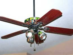 stained glass ceiling fan light shades fitter and like for the home fans with inspirations f