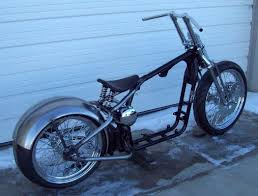 xl sportster conversion bobber chopper hardtail rigid frame dna