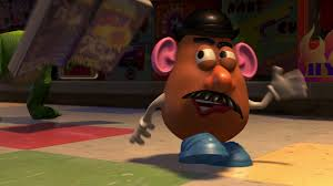 mr potato head toy story 2. Delighful Toy He Climbs Into The Collectoru0027s Bag To Follow Him Gets Out Of Alu0027s Car  By Opening Door Thus Pulling His Arms Off And Heads Towards Building To Mr Potato Head Toy Story 2 O