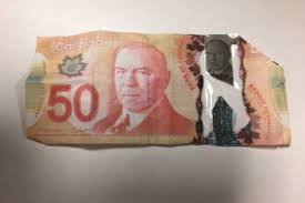 Canadian Of Counterfeit Warning 50 Bills b Rcmp N Public