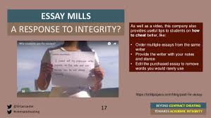 beyond contract cheating towards academic integrity st andrews t  17