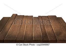 wood table perspective. Plain Table Wood Table In Perspective On White Background  Csp20948867 On Table Perspective N