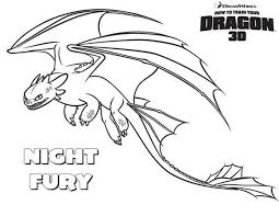 Small Picture Amazing Night Fury How to Train Your Dragon Coloring Pages Bulk