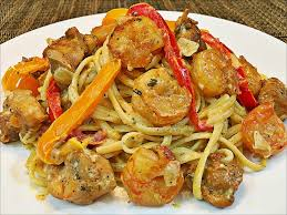 cajun en and shrimp pasta recipe creamy and easy pasta recipe