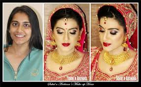 bridal makeup artist in south delhi visit sukul n archana s makeup house and get princess