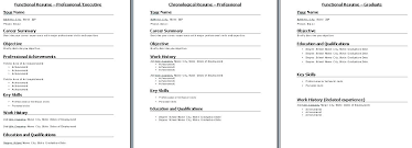 Nice Resume Formats Nice Resume Formats Types Of Resumes Formats Different Types Of