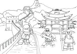 Lego Ninjago Coloring Pictures Coloring Pages Ninja Coloring Pages