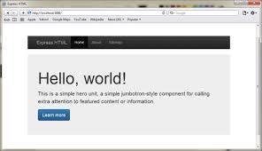 Render HTML file in ExpressJS – Codeforgeek