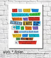 kids bathroom wall decor39 wall