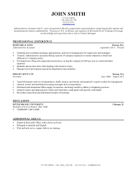 ... Template Resume 15 Resume Template Chicago BW ...