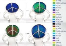 Mood Ring Emotions Chart Kids Child Color Changing Emotion Feeling Change Mood Ring