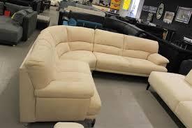 Sofa Garnitur Beige Hell Couch Garnitur Rundecke