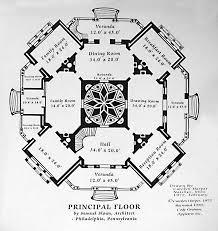 Floor plans  Mansion floor plans and Floors on PinterestLongwood House in Mississippi Main Floor Plan