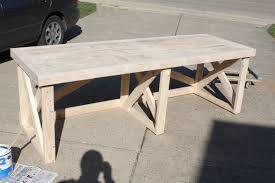 picture of diy desk plans full size