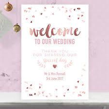 Wedding Welcome Sign Ebay