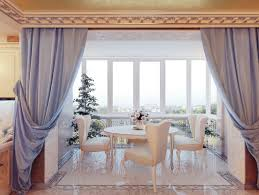 Dining Room Curtains Design Ideas House Interior And Furniture - Dining room curtain designs