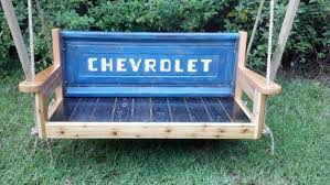 porch swing tailgate bench