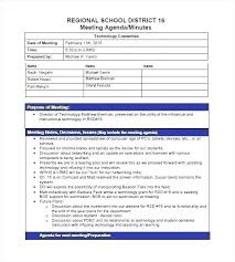 Word Template Minutes School Project Meeting Minutes Template Templates Free E