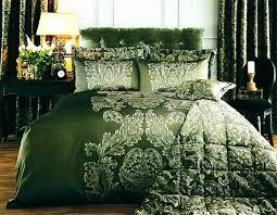 dark green duvet cover set elegant script with gold embroidery 3 rooms dark green plaid duvet cover luxury bedding set king