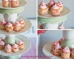 here s a lovely diy upcycled tiered cake stand that i made out of coordinating plates