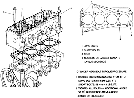 repair guides engine mechanical cylinder head com 9 cylinder head bolt torque sequence 2 2l gasoline engine