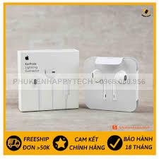 Tai nghe iPhone Lightning chính hãng Apple | Tai nghe iPhone 7 8 PLus XsMax  11ProMax | Tai nghe Gaming có dây tại Hà Nội