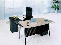 simple office table design. Modern L Shape Simple Director Office Table Design (SZ-ODT650) Simple Office Table Design I