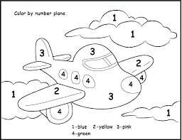 Numbers Coloring Pages 1 10 0 Page Playanamehelp