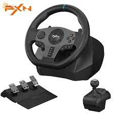 Vô lăng tay game lái xe ô tô xe hơi PXN 270 900 chơi game PS3 PS4 Xbox One  cao cấp