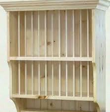 diy plate rack wooden plate shelf plans blueprints plate shelf plans kitchens kitchens storage consider adding diy plate rack