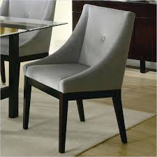 fabric upholstered dining chairs mid century modern