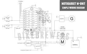 motogadget m unit wiring bikebrewers com motogadget m unit wiring diagram
