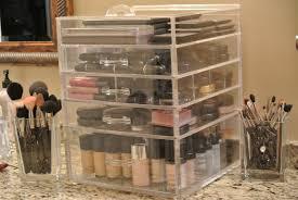 Kim Kardashian Bedroom Decor Interior Appealing Acrylic Makeup Organizer 4 Hzmeshow