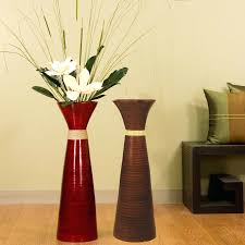 Floor Vase With Branches Tall Vases Artificial Flowers Set. Living Room Floor  Vase Decor Vases Target Tall With Stand. Decorative Floor Vase Fillers With  ...