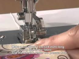 Brother Sewing Machine Side Cutter Foot
