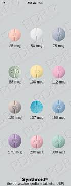 Synthroid Dosage Chart Synthroid