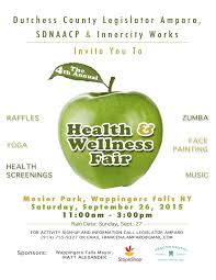 Health Fair Flyers The 4th Annual Health And Wellness Fair Francena Amparo