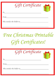 Christmas Certificates Templates For Word Fascinating Gift Voucher Template Size Word Calvarychristian