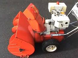 1973 Ariens Snow Blower with a 7HP Tecumseh Engine - YouTube