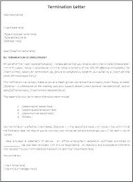 Separation Letter Template