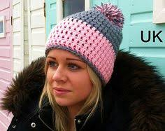 Crochet Winter Hat Pattern Custom WOMENS CROCHET Hat PATTERN Crochet Hat Pattern Winter Hat Pattern
