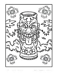 Printable Pictures Of Hawaii Coloring Pages Coloring Pages State
