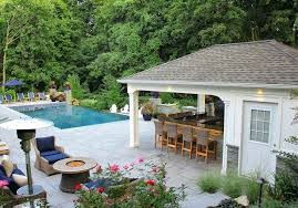 pool house with outdoor kitchen plans. My Shed Plans X Custom Pool House Cabana With Outdoor Kitchen Bar Storage Bathroom And Indoor Shower Long Island Now You
