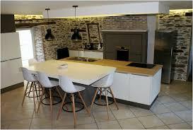 Ilot De Cuisine Avec Table Amovible Grand 45 Image Central