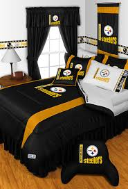 amazing modern bedroom pittsburgh bedding decoratively pittsburgh steelers shower curtain paired nfl steelers bathroom pittsburgh steelers