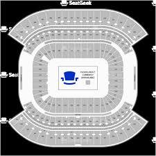 Ohio State Stadium Map Nissan Stadium Seating Chart Map