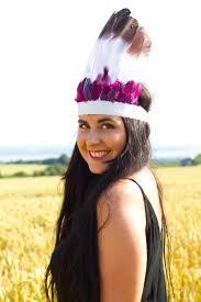 festival feather headdress diy tutorial